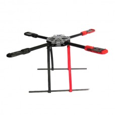 SAGA F500 Carbon+Glass Fiber Aircraft Fully Folding FPV Quadcopter TL65B01 w/ Landing Skid Gear