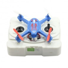 Modelking 33023 2.4G Mini Quad 4 Channel 6 Axis Gyro 3D RC Quadcopter UFO - Blue