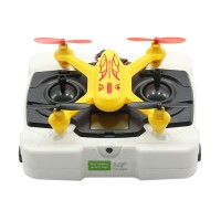 Modelking 33023 2.4G Mini Quad 4 Channel 6 Axis Gyro 3D RC Quadcopter UFO - Yellow