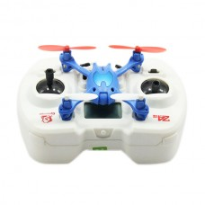 Hot New 33022 Mini Quadcopter 2.4G 4CH 6 Axis Gyro 3D RC Remote Control UFO Helicopter-Blue