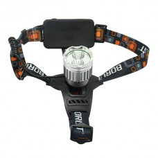 2000LM Headlamp CREE XM-L XML T6 R5 Head Lamp LED Headlamp+AC Charger Bicycle Bike Light Outdoor Sport Light Lamp Torch