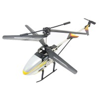 3 Channel Remote Control Airplane Infrared Control RC Heli Hovering Rotor kid Toy Gift Yellow