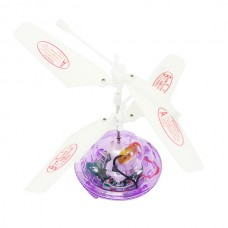 New Hovering Helicopter Floating Toys Flashing LEDs Auto-induction 2CH RC Infrared LED Remote Control UFO Helicopter Purple