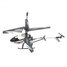 F63018 3.5-Channel 2.4GHz Remote Control RC Helicopter 3.5 Channel with Gyroscope Black/White