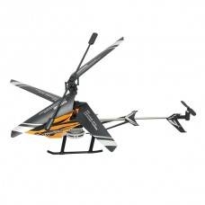 F63018 3.5-Channel 2.4GHz Remote Control RC Helicopter 3.5 Channel with Gyroscope Black/Orange