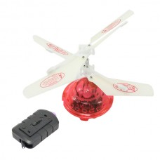 New Hovering Helicopter Floating Toys Flashing LEDs Auto-induction 2CH RC Infrared LED Remote Control UFO Helicopter Red