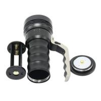 800 Lumens Cree XPG R5 Flashlight LED Glare Long-range Portable Torch Waterproof Flashlight 2*18650 Battery Black