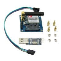 SIM900A MINI Wireless Data Transmission Module GSM GPRS Development Board Kit w/ Antenna