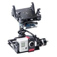 3 Axis Aluminium Gopro AlexMos Brushless Gimbal Camera Mount w/Motor & Controller 360 Deg Rotation
