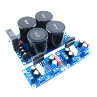 LM3886TF Amplifier Board Kit + Rectifier Filter Board Kit (PC Computer Desktop Household Amplifier Board)