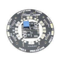J&K Dual BEC ESC Power Distribution Board Power Connection Plate with LED 100A for Multirotor