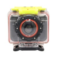 T10 HD 1080P Waterproof Sport Action Camera Diving Marine Bike DV Camcorder Remote Watch