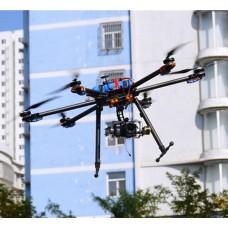 Tarot T960 Hexacopter w/ T-motor 3515 400KV Motor & Hobbywing 40A ESC Prop Landing Skid ARTF Combo