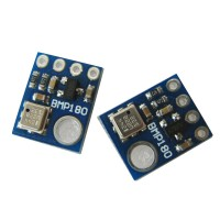 5pcs/pack GY-68 BMP180 BOSCH Temperature Pressure Sensor Module Breakout Board Replace BMP085
