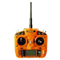 2.4G HobbyKing Orange RX T-Six Universal High Cost Performance Surpass DX6I(Left/Right Hand Throttle)