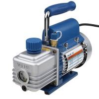 "220V R410a 2CFM Rotary Vane Deep Vacuum Pump HVAC AC Air Tool Freon 1/4 ""Flare"