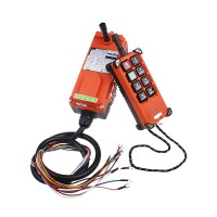 8 Channels Hoist Crane Radio Remote Control System Industrial Controllers 18-65V