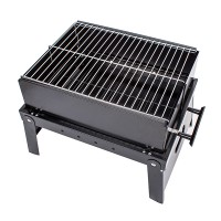 Stainless steel charcoal grill kabab kabob BBQ Barbecue Shashlik Picnic Garden