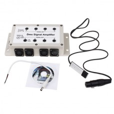 1 Input 8 Output Isolated USB DMX512 Controller & Amplifier for LED Stage Lights