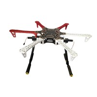 220mm Electronic Retractable FPV Landing Gear Skid for DJI F550 Hexacopter Octocopter