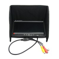 """7"""" FPV LCD Color Monitor Video Screen 7 inch FPV Monitor w/ Sunhood for Rc Multicopter Car"""