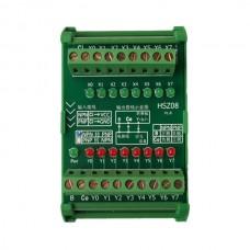 8Channel NPN to PNP/PLC Signal Level Transformer Module/Polar Convertor/IO Board Transition Card