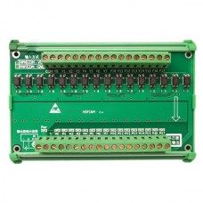 16CH Mitsubishi PLC Output Isolation Amplifier Board Driver Module Expansion Flow Plate Relay Plate w/Holder IO Board
