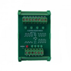 4CH 5V to 24V Grating Ruler PLC Impulse Convertor High Speed Conversion Photoelectricity Isolation IO Interface Board