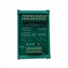 TTL to HTL Signal Convertor Encoder Grating Ruler Magnetic Railing Ruler Conversion Difference to 24V Collector 3 Road