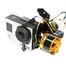 Dragonfly 1 S360 Slip Ring Customized Version  3 Axis Brushless Gimbal (Send Voltage Module and Damping Ball)