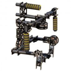 4.0mm 100% Carbon Fiber 3 Axis DSLR Handle Camera Gimbal + Motors + Controller