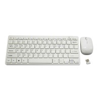 2.4Ghz Wireless Keyboard and Mouse Combo Super Mini Keyboard
