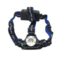 204 Front SwitchQuality Adjustable Soft Fastener Headband Head Strap for Bicycle Headlamp Headlight