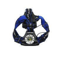 204-A Back Switch Quality Adjustable Soft Fastener Headband Head Strap for Bicycle Headlamp Headlight