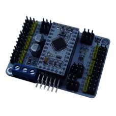24 Channel Servo Motor Control Driver Board w/ Arduino Pro MINI for Robot Project and Smart Car Chassis