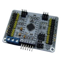 24 Channel Servo Motor Control Driver Board w/ Arduino Nano for Robot Project and Smart Car Chassis