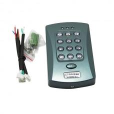 RFID Door Access Control V2000-C+ for Single Door w/ Built in Sensor Card Reader and Passport Keyboard