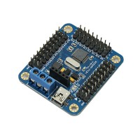 Upgrade 16 Channel Servo Motor Control Driver Board For Arduino Robot Project and Chassis Robot