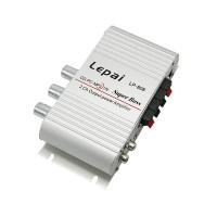 Lepy LP-808 Mini Hi-Fi Stereo Amplifier Mini Amp 20W X2 RMS Amp For Home Car Boat