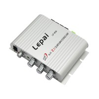 Super Bass Leipai LP-838 2.1 3 Channel Stereo Mini Computer Car Amplifier Subwoofer Out