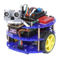 Robot-M Robot Kits Arduino Handmade Smart Car Arduino Bluetooth Small Car Learning Kits