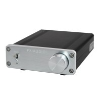 FX FX502A 50W x 2 Hi-Fi 2 Channel Digital Power Amplifier Hifi Amp- Silver + Black (100~240V)