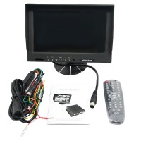 "9""Inch EM-9000MDVR 9001-4SD Monitor Display High Definition Real Time Recording  for Home Security Truck Vehicle Use"