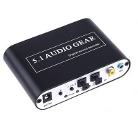 HD51-A Digital Audio Decoder 4 Bit Audio DSP 96 KHz Digital Receivers 192 KHz/24Bit ADC DAC