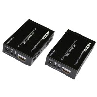 HBT-E70 HDMI Extender over Cat5e/Cat6 for Extending HDMI Signal Over Long Distances to Compatible Display