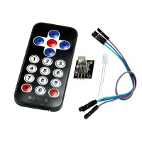 2pcs New Infrared IR Wireless Remote Control Module Kits for Arduino