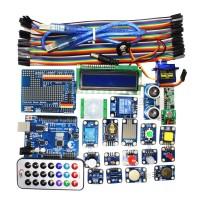 Arduino UNO R3 starter Electronic Bricks kit Motor Servo Ultrasonic Relay Sensor