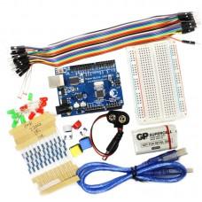Light Starter Kit + UNO R3 + PDF Files for Arduino AVR MCU Learner