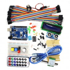 UNO R3 Arduino Learning Kits Combo for Starters w/ Starter Insrtruction Book Easy to Learn