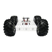4WD Aluminum Mobile Robot Platform Car chassis Robot Chassis Robot Vehicles Heavy Duty